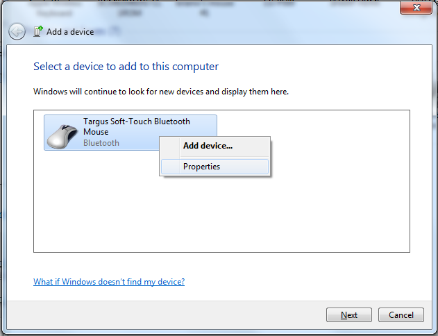 Bluetooth Mouse Pairing: Fix 'Authentication Error' in Windows 7