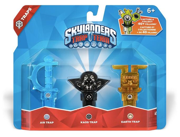 Skylanders Trap Team Review Kaos Trap Random
