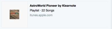Apple Music Playlist Twitter Card