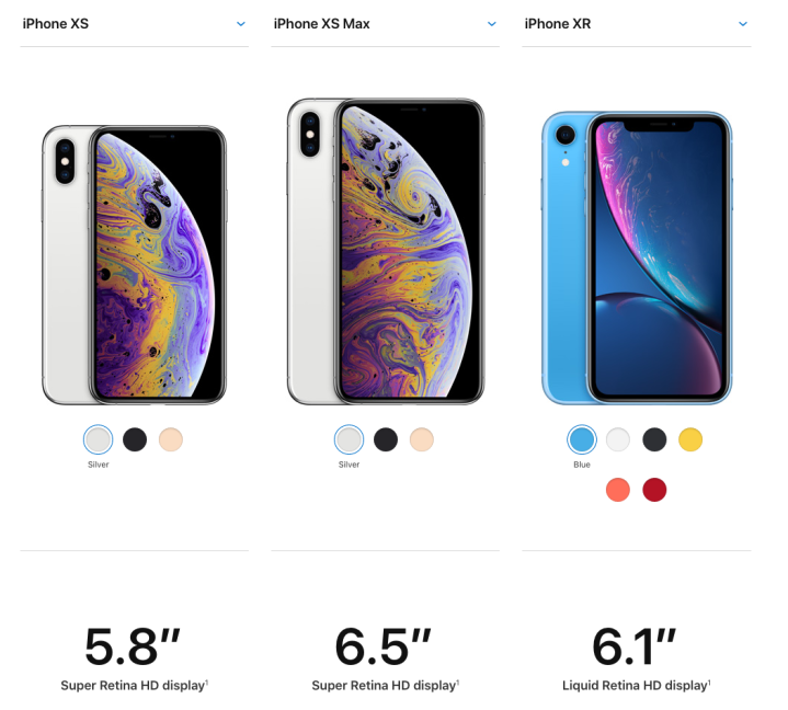 iPhone X Compare