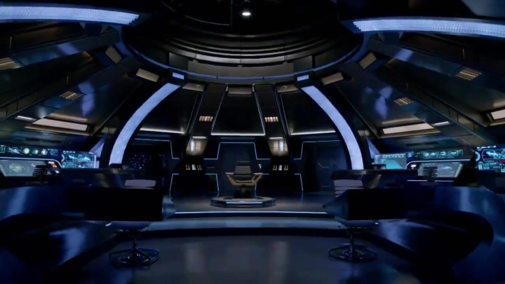 Star Trek Discovery Bridge