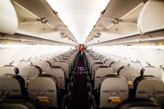 people inside airplane